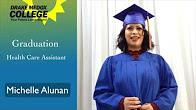 Michelle Alunan - Healthcare Assistant Graduate, Drake Medox College