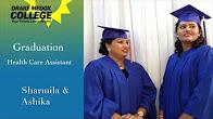 Sharmila & Ashika - Healthcare Assistant Graduates, Drake Medox College