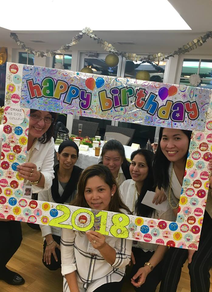 Activity Assistant Practicum Students Host Birthday Celebration!